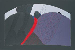 Mond, Acryl auf Leinwand, 1979