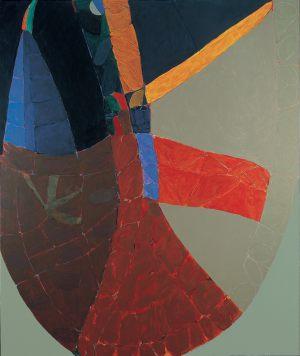 Ritual, Acryl auf Leinwand, 1983