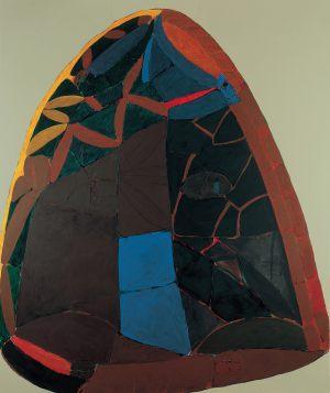 Tor, Acryl auf Leinwand, 1983