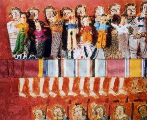 Pupplikum, Polaroidtransformation auf Alu, 2009