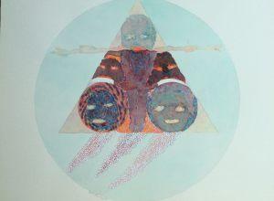 Elemente für Tarot, Aquarell, 1970