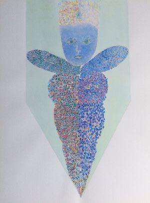 Fortschritt für Tarot, Aquarell, 1971