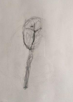 Geist, Bleistift auf Papier, 1992