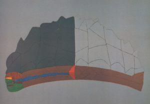 November Lebenszyklus, Handsiebdruck, 1980