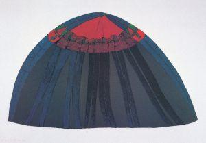 Februar Lebenszyklus, Handsiebdruck, 1980