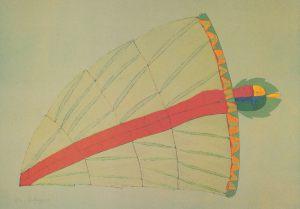 September, Lebenszyklus, Handsiebdruck 1980