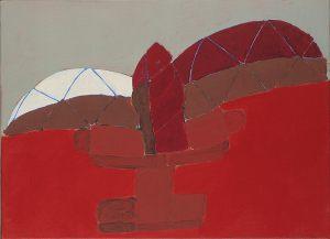 Vogel für Kopf, Oel auf Leinwand, 1981