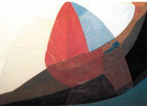 Grosses Boot, Oel auf Leinwand, 1986