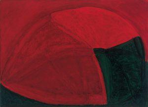 Körperfeld, Oel auf Leinwand, 1990