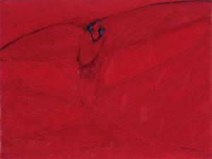 Sonnenvogel, Oel auf Leinwand, 1990