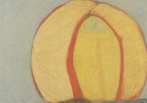 Goldgehirn, Pastell auf Bütten, 1995