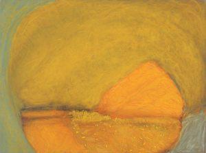 Höhle, Pastell auf Bütten, 1999