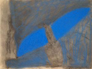 Gute Nacht Magier, Pastell auf Bütten, 2010