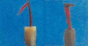 Paar, Handsiebdruck, 1995