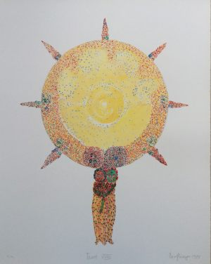 The Sun, Tarot, Granolithographie, 1975