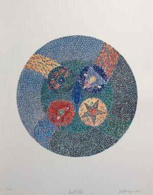 The Universe, Tarot, Granolithographie, 1975
